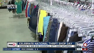 Goodwill Celebrates National Thrift Shop Day with contest