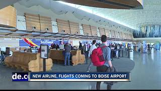 Boise Airport sets passenger record for 2017 - Video