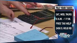 Free help to file your taxes in Tucson - Video