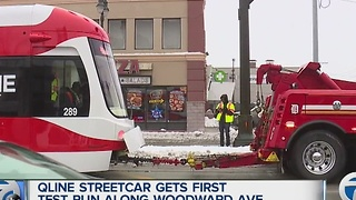 Qline test drive in Detroit - Video