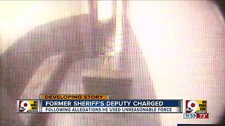 Former sheriff's deputy charged