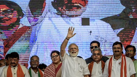 India's Ruling Party Wins In An Unexpected Landslide Victory