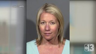 Teacher arrested on DUI charge after crash outside North Las Vegas elementary school