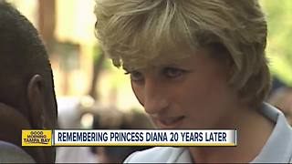 Remembering Princess Diana 20 years later - Video