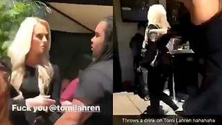 Tomi Lahren Gets A Drink Thrown In Her Face At a Hip-Hop Brunch