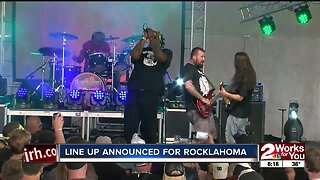 Lineup announced for Rocklahoma 2020