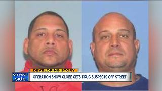 Operation Snow Globe gets drug suspects off the streets - Video