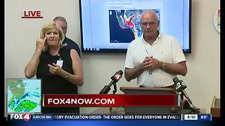 Lee County officials hold briefing on Irma - Video