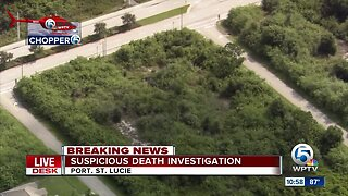 Suspicious death investigated after body found in Port St. Lucie