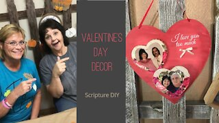 DIY Valentine's Day Home Decor