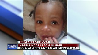 Arrest made in murder of baby girl, five years later
