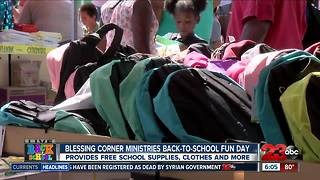 Local church helping with back-to-school shopping