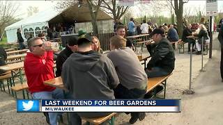 Milwaukee beer gardens - Video