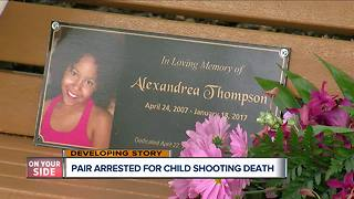 Two arrested, charged with murder in 9-year-old's 2017 shooting death - Video
