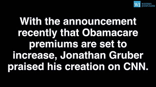 Obamacare Architect Wants Higher Penalties For Not Enrolling...To Boost Enrollment - Video