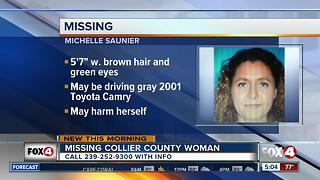 Missing woman in Collier County