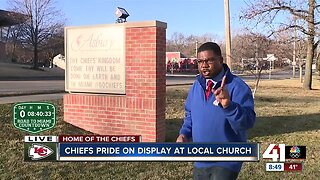 Metro church supports Chiefs and community