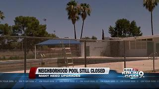 Tucson neighborhood wants closed pool reopened - Video