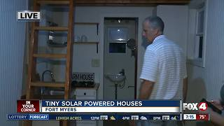 Benefits of tiny solar powered homes - Video