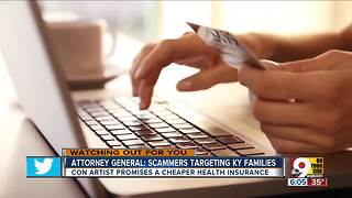 Kentucky AG warns about health insurance scam - Video