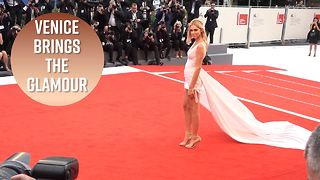 The best red carpet moments from Venice Film Festival - Video