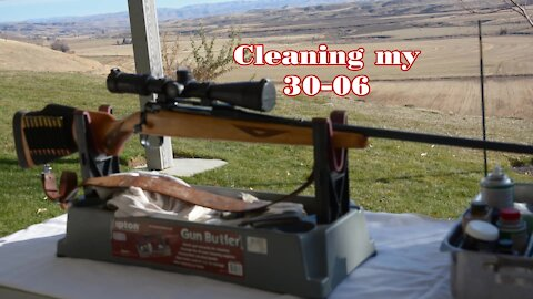 Cleaning the 30.06 by Wapp Howdy