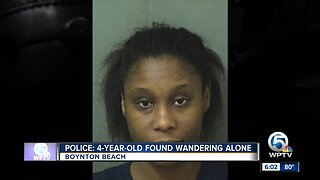 Police: 4-year-old found wandering alone