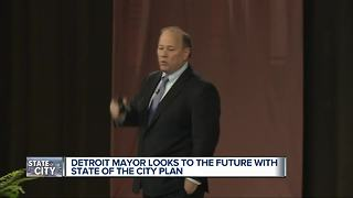 Detroit Mayor Mike Duggan gives State of the City address