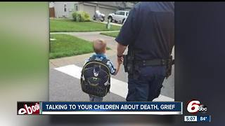 Tips for talking to your children about death, grief - Video