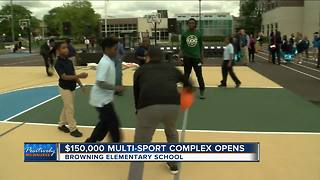 Milwaukee Bucks, Johnson Controls open new playground - Video