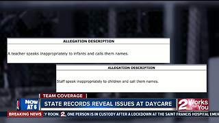 State records reveal issues at daycare - Video