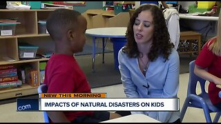How natural disasters can affect kids