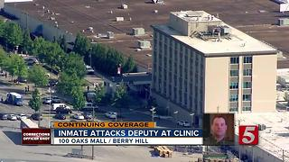 Corrections Officer Remains Hospitalized - Video
