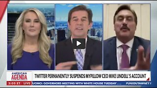 WOW Newsmax Anchor Walks Off Mid-Interview with Mike Lindell