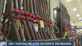 DEC: hunting-related incidents decreasing - Video