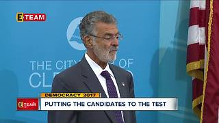 Putting the Mayoral candidates to the test - Video