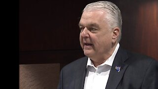 Gov. Steve Sisolak issues statement on President Trump's visit to Nevada