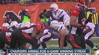 Chargers aiming for 6-game winning streak - Video