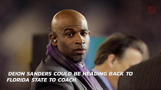 Deion Sanders Responds To Florida State Rumors - Video