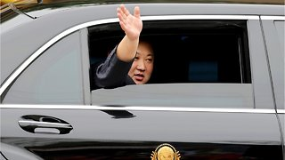 Kim Jong Un Begins Hanoi Trip With Visit To Embassy