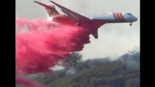 California's Woolsey Fire Flares Up in Malibu Creek State Park - Video