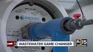 Scottsdale Water facility converts toilet water to drinking water - Video