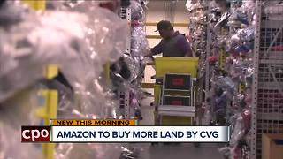Amazon buying more land at CVG for future hub - Video