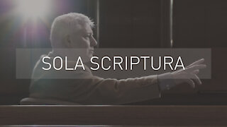 Sola Scriptura | with Pastor Chris Jordan