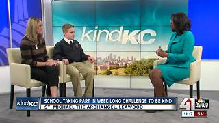 Interview: School taking part in week-long challenge to be kind - Video