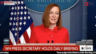 WH Press Secretary Circles Back...