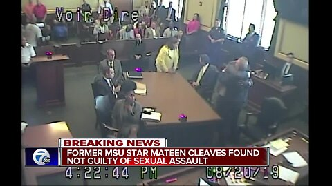 Jury finds Mateen Cleaves not guilty in sexual assault trial