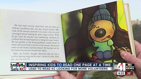 Kansas City's Lead to Read program hopes reading means a safer future