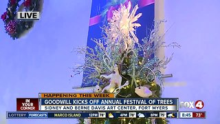 Goodwill's 12th annual Festival of Trees