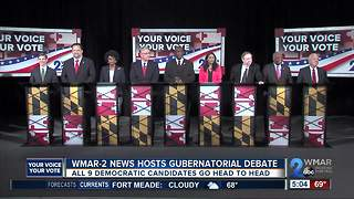 WMAR-2 News hosts Gubernatorial debate